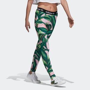2d148abfd2e378 adidas Pants   Nwt Originals Farm Big Leaf Leggings S   Poshmark